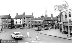 Newark-on-Trent, Beaumond Cross c.1965