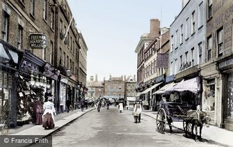 Newark-on-Trent, Bridge Street 1906