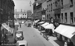 Newark-on-Trent, Bridge Street c.1955