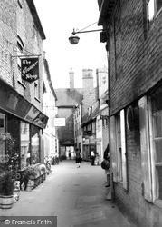 Newark-on-Trent, Chain Lane c.1965