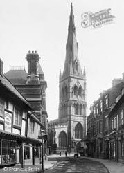 Newark-on-Trent, Kirkgate 1900