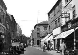 Newark-on-Trent, Stodman Street c.1955