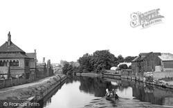 Newark-on-Trent, The River c.1965