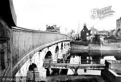 Newark-on-Trent, Town Bridge 1890