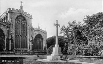 Newark-on-Trent, War Memorial 1923
