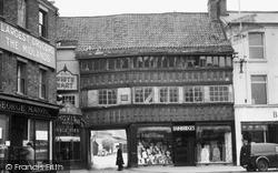 Newark-on-Trent, Ye Olde White Hart c.1955