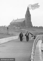 Newbiggin-By-The-Sea, A Walk Along East Promenade c.1960
