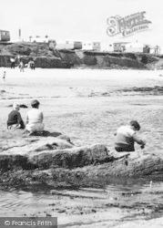 Newbiggin-By-The-Sea, Boys On The Beach c.1960