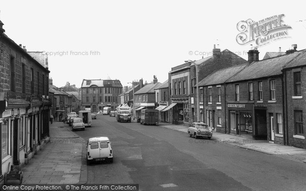 Photo of Newbiggin-By-The-Sea, Front Street c1965, ref. N76078