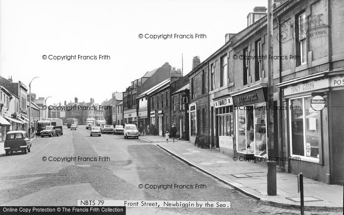 Photo Of Newbiggin By The Sea Front Street C1965