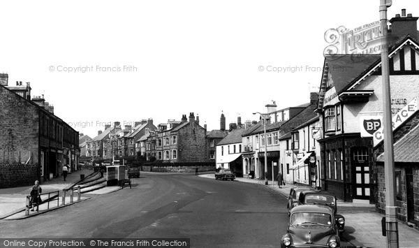 Photo of Newbiggin-By-The-Sea, Front Street c1965, ref. N76080