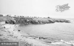Newbiggin-By-The-Sea, Little Bay c.1960