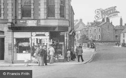 Newbiggin-By-The-Sea, Newsagents, Front Street c.1955