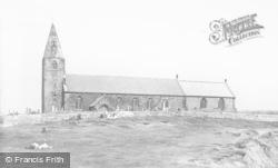 Newbiggin-By-The-Sea, St Bartholomew's Church c.1960