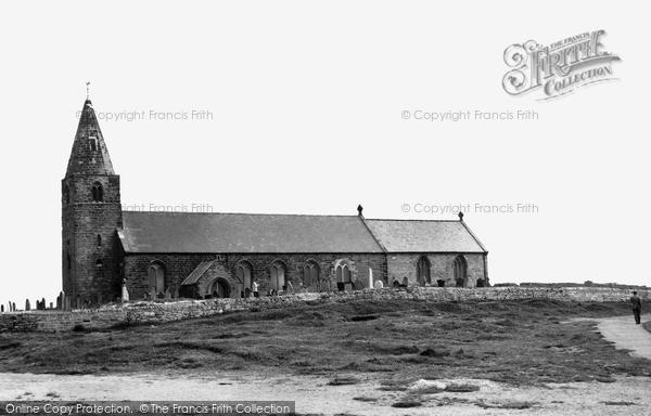 Photo of Newbiggin-By-The-Sea, St Bartholomew's Church c1965, ref. N76071