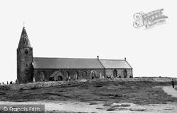 St Bartholomew's Church c.1965, Newbiggin-By-The-Sea
