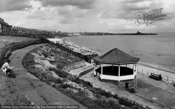 Photo of Newbiggin-by-the-Sea, the Bandstand c1960