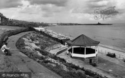 Newbiggin-By-The-Sea, The Bandstand c.1960