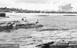 Newbiggin-By-The-Sea, The Beach c.1960