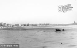 Newbiggin-By-The-Sea, The Beach c.1965