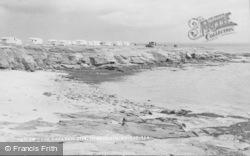 Newbiggin-By-The-Sea, The Caravan Site c.1955
