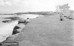 Newbiggin-By-The-Sea, The Caravan Site c.1960