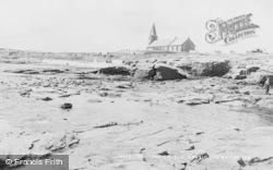 Newbiggin-By-The-Sea, The Church c.1955