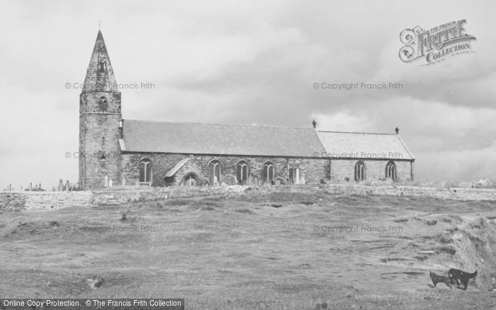 Photo of Newbiggin By The Sea, The Church c.1955