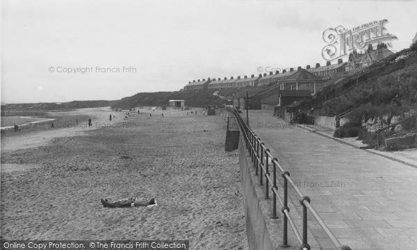 Photo of Newbiggin-By-The-Sea, the Promenade c1955, ref. N76001