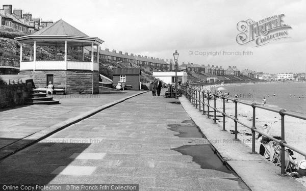 Photo of Newbiggin-By-The-Sea, the Promenade c1955, ref. N76010