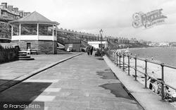 Newbiggin-By-The-Sea, The Promenade c.1955