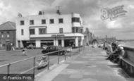 Newbiggin-by-the-Sea, the Promenade c1960