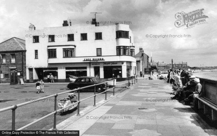 Photo of Newbiggin-By-The-Sea, the Promenade c1960, ref. N76062