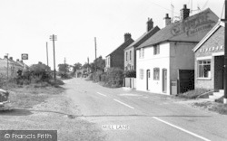 Newbold Verdon, Mill Lane c.1965