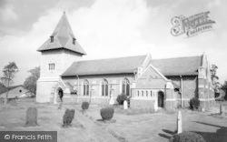 Newbold Verdon, St James Church c.1965