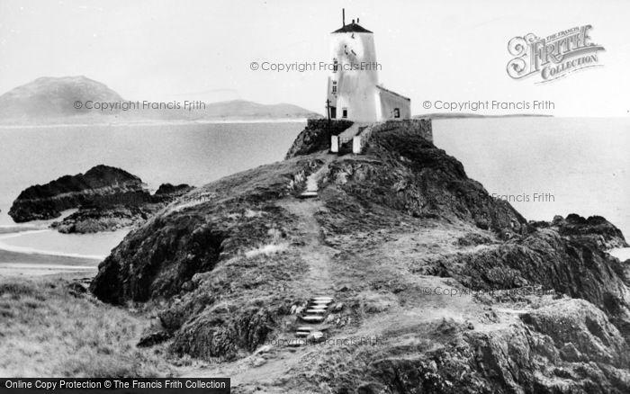 Photo of Newborough, Lighthouse, Llanddwyn Island c.1960