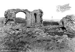 Llanddwyn Abbey And The Memorial c.1950, Newborough