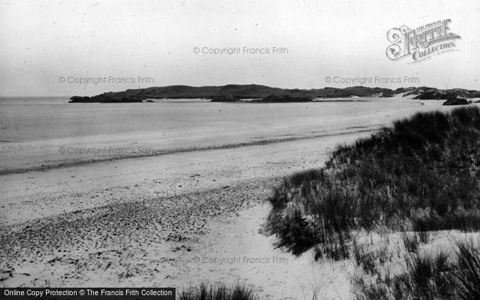 Photo of Newborough, Llanddwyn Beach c.1950
