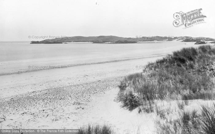 Photo of Newborough, Llanddwyn Beach c.1955