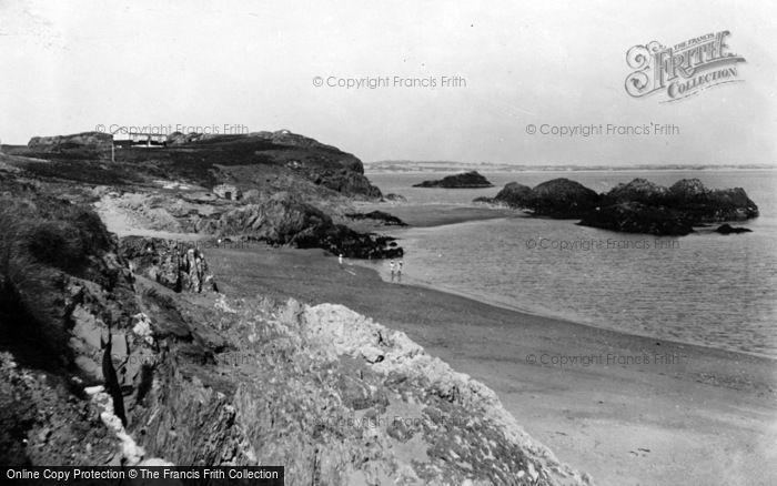 Photo of Newborough, Llanddwyn From Cove c.1950