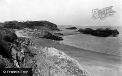 Llanddwyn From Cove c.1950, Newborough
