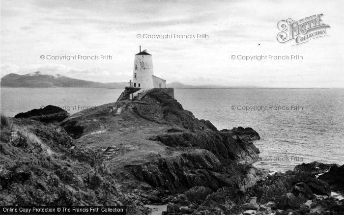 Photo of Newborough, Llanddwyn Island Lighthouse c.1960
