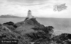 Llanddwyn Island Lighthouse c.1960, Newborough