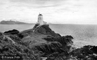 Newborough, Llanddwyn Island Lighthouse c1960
