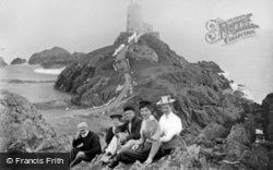 Llanddwyn Island, The Lighthouse c.1900, Newborough