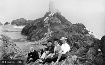 Newborough, Llanddwyn Island, the Lighthouse c1900