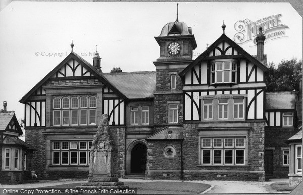 Photo of Newborough, Sir Pritchard Jones Institute c.1955
