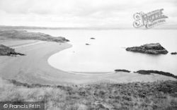 The Beach, Llanddwyn Island c.1960, Newborough
