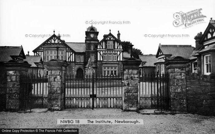 Photo of Newborough, The Institute c.1955