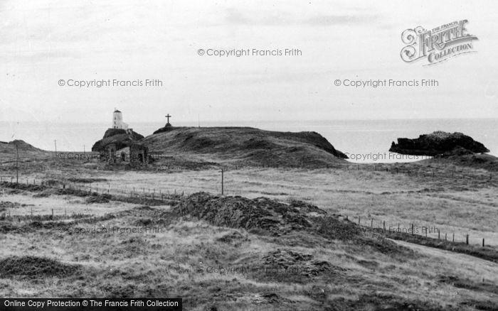 Photo of Newborough, The Lighthouse And Abbey, Llanddwyn Island c.1960